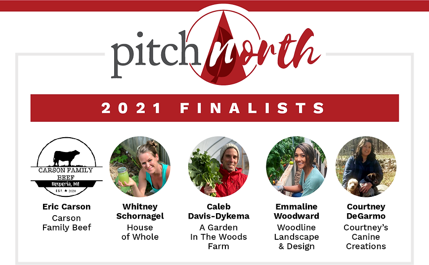 Pitch North 2021 Finalist Social Graphic
