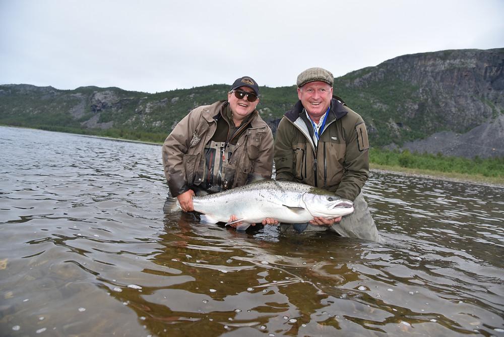 43 pound Salmon River Alta