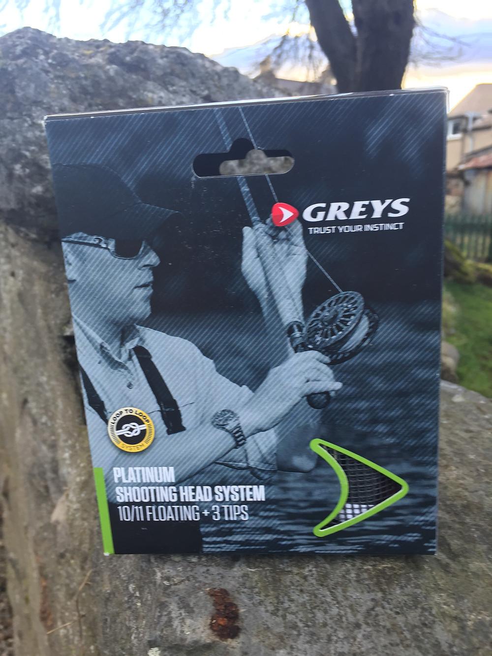 Greys Multi Tip Shooting Head Flyline