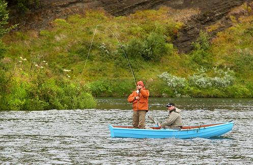 The BIg Laxa Salmon Fishing with Ian Gordon Iceland