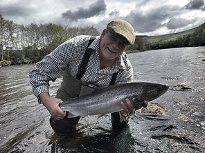Salmon Fishing River Spey Ian Gordon