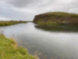 Big Laxa River Salmon Fishin in Iceland