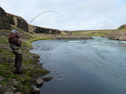 Blanda River Salmon Fishing Ian Gordon