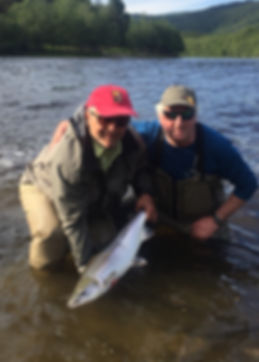 A nice salmon from Igdhollen River Orkla
