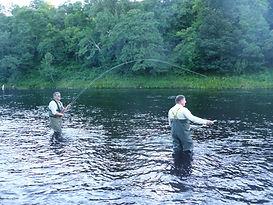 Ian Gordon Salmon Fishing  Knockando River Spey