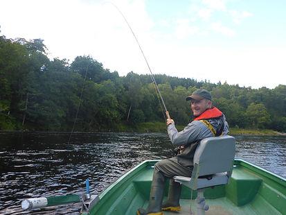 Luxury  Salmon Fishing
