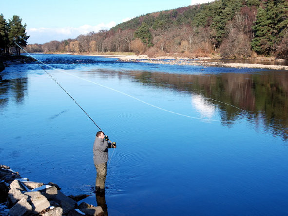 Fishing The River Spey