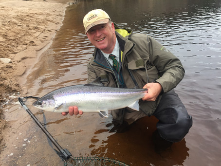 Fishing The River Findhorn