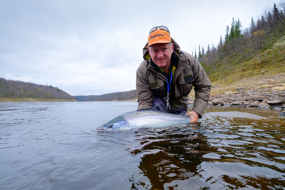 Osenka Salmon on the Ponoi River Russia