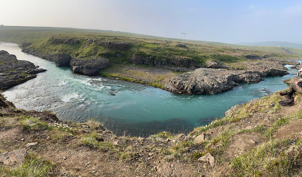 The River Blanda