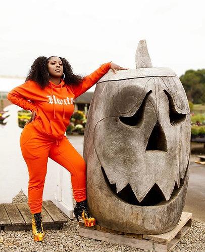 Pumpkin Spice Highlight Sweatsuit