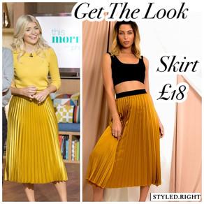 Holly's skirt