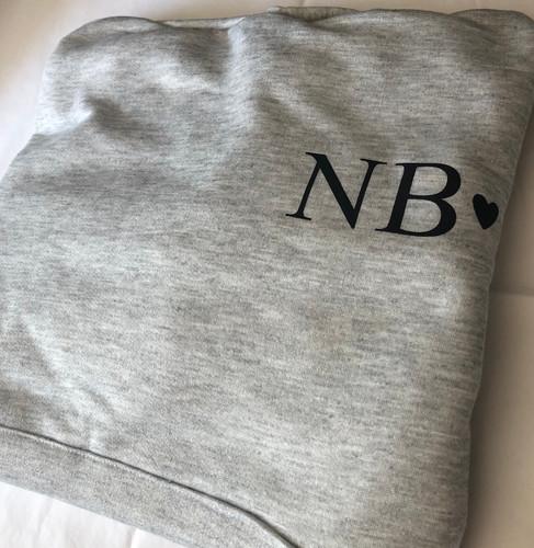 Initial hoodie