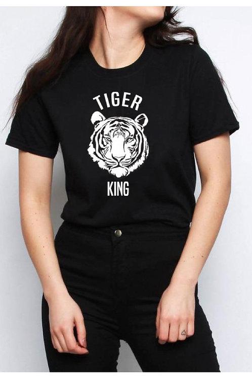 Tiger King slogan tee