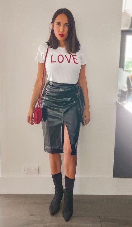 Styled Right own design LOVE tee