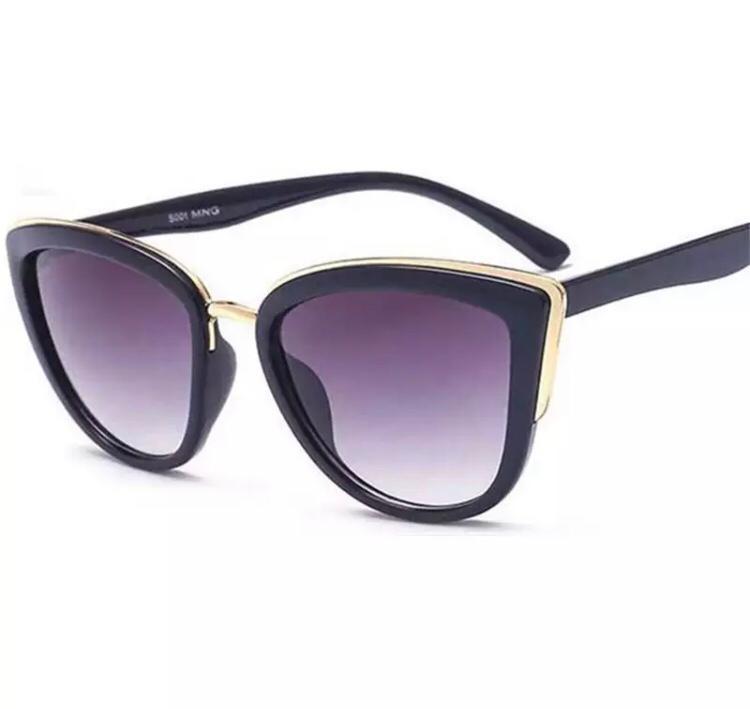Cat eye shades in black
