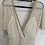 Thumbnail: Gold/beige zip back jumpsuit with short lining