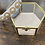 Thumbnail: Ivory satin and statement jewel headband