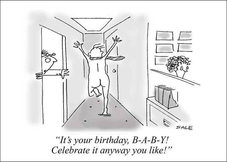Birthday Streaker.