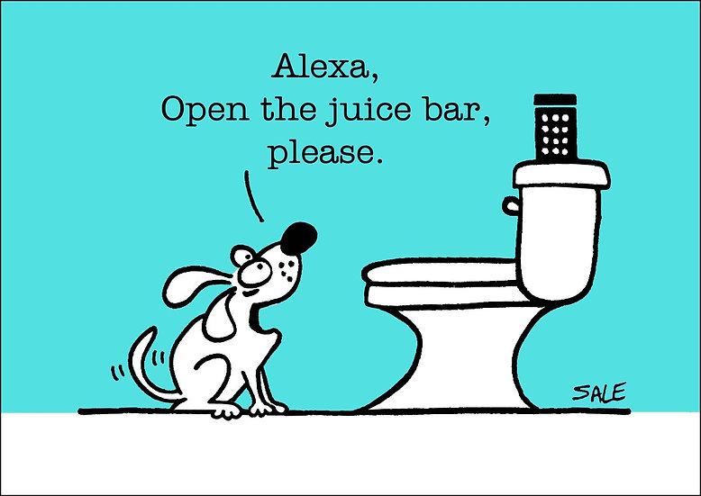 Alexa: Juice Bar.