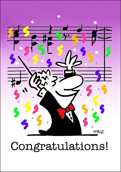 Congratulations Music.