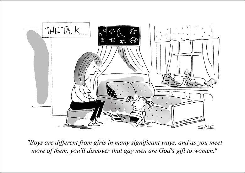 Gay Men God's Gift to Women.