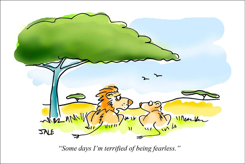 Lions Fearless.