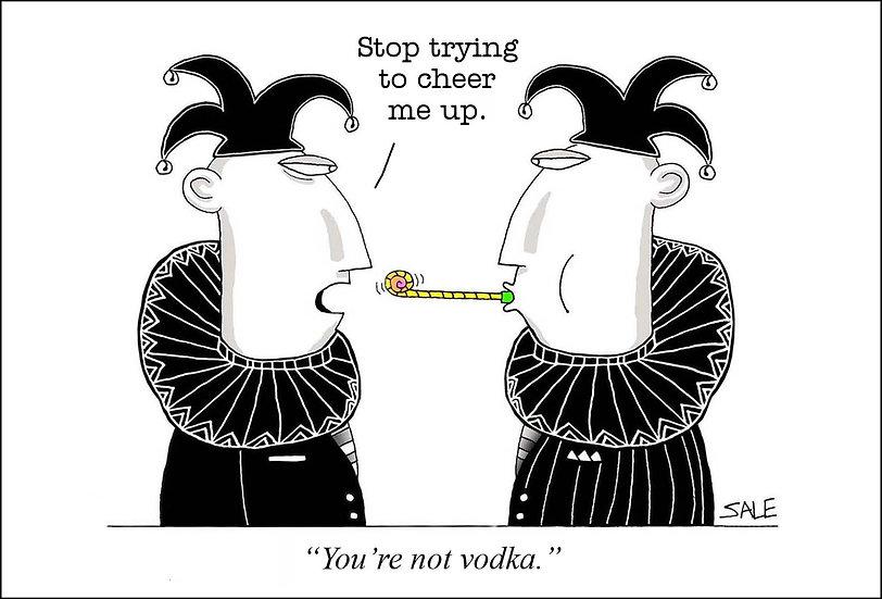 Not Vodka.