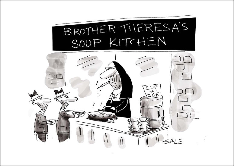 Brother Theresa's Soup Kitchen.