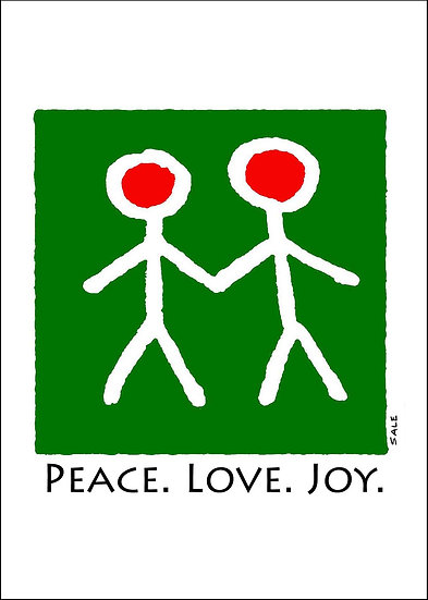Peace. Love. Joy..