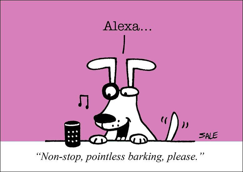 Alexa Barking.
