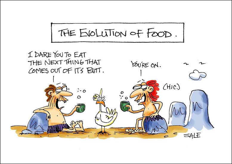 Evolution of Food.