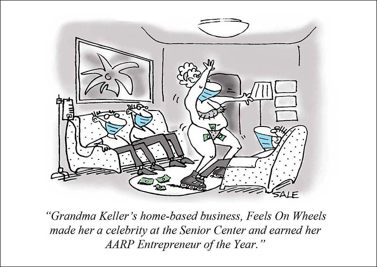 Grandma Keller.