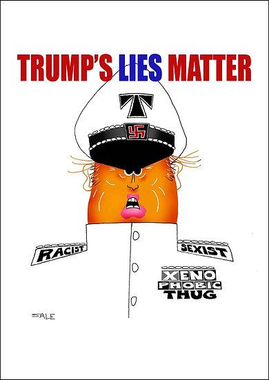 Trump's Lies Matter.