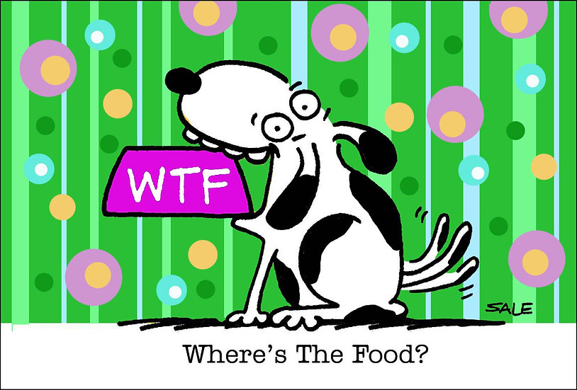 WTF. Where's the Food.
