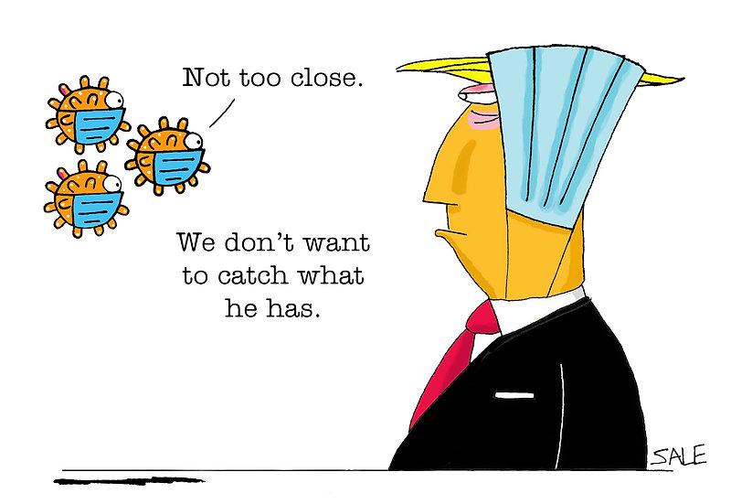 COVID Fears Trump