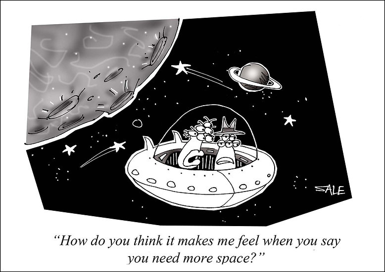 More Space.