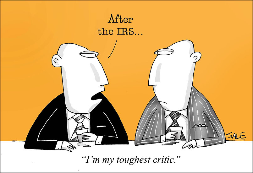 IRS Toughest Critic.
