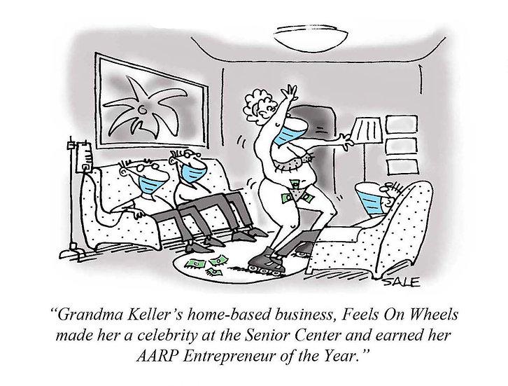 COVID: Grandma Keller.