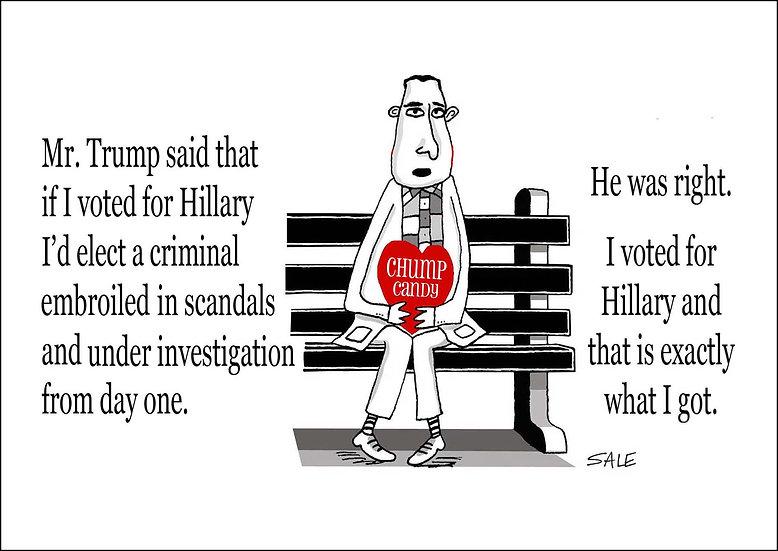 Forrest Gump Scandals.