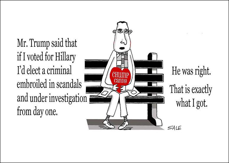 Forrest Gump: Trump Scandal
