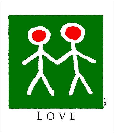 Xmas Love Figures.