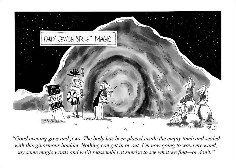 Early Jewish Street Magic.
