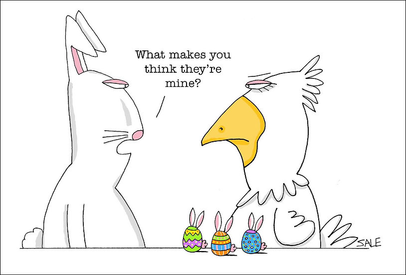 Easter: Rabbit & Chicken
