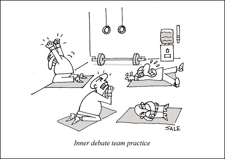 Inner Debate Team Practice.