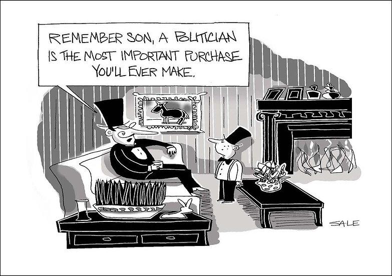 Purchase a Politician.
