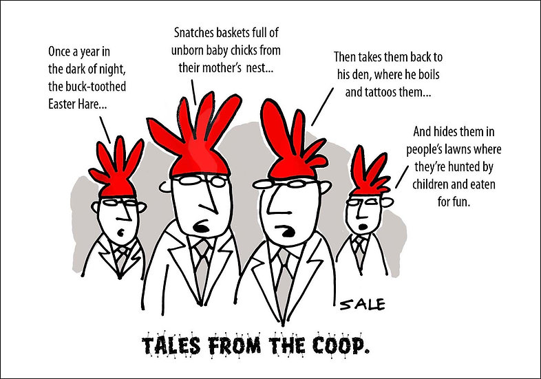 Tales From the Coop.