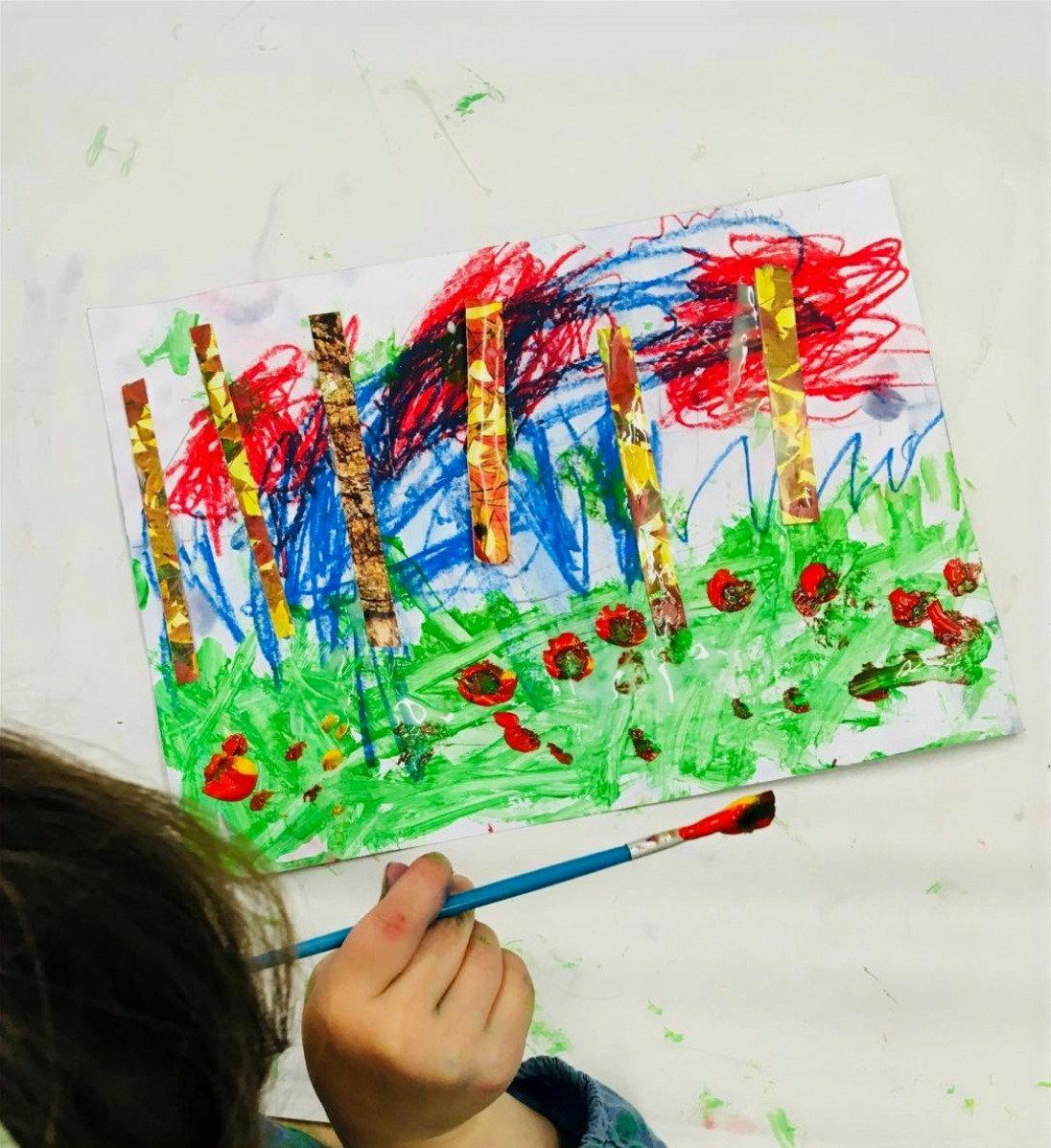Thursday PM Pre-school Messy Art Class