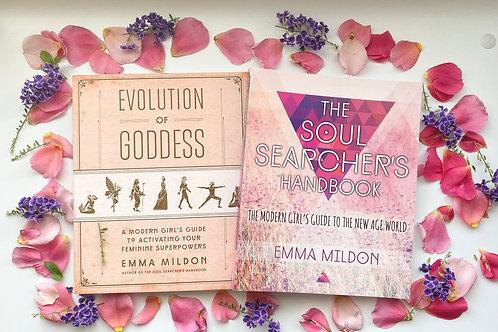 Soul Searchers Handbook and Evolution of Goddess Pack