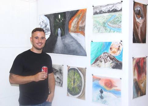 Alumno: Matias Ramirez y una seleccion de su obra realizada durante el año 2017 y 2018